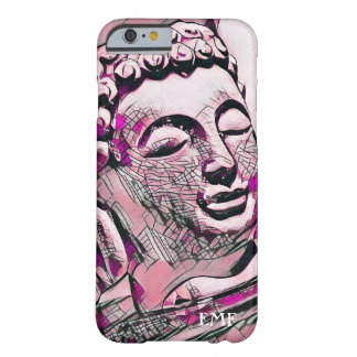 Mit Monogramm rosa Buddha Barely There iPhone 6 Hülle