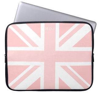 Mit Monogramm rosa Gewerkschafts-Jack-BRITISCHE