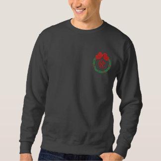 Mit Monogramm Weihnachten gesticktes Shirt