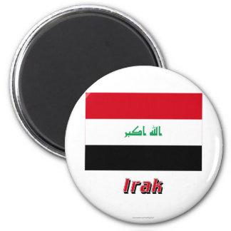 MIT Namen des Iraks Flagge