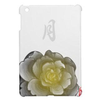 Mit Tinte geschwärzte Blumenblätter eines Jahres - iPad Mini Hülle