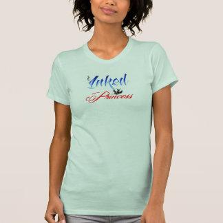 Mit Tinte geschwärzte Prinzessin T-Shirt