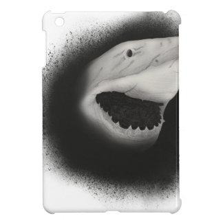 Mit Tinte geschwärzter Haifisch-Angriff iPad Mini Hülle