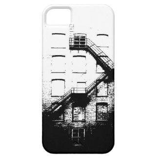 Mit Tinte geschwärztes Gebäude tritt Barely There iPhone 5 Hülle