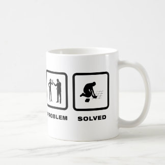 Mit Ziegeln decken Tasse