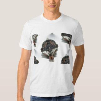 Mit Ziegeln gedeckt Zikade-Einfassung-durch KLM T-Shirts