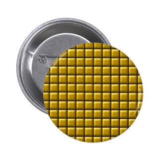 Mit Ziegeln gedeckter Fliesen-reflektierender Must Runder Button 5,1 Cm