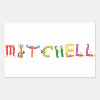 Mitchell Aufkleber