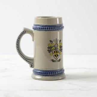Mitchell Familienwappen-Wappen Bierglas