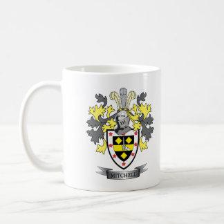 Mitchell Familienwappen-Wappen Kaffeetasse