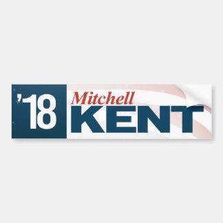 Mitchell Kent für Senat Autoaufkleber