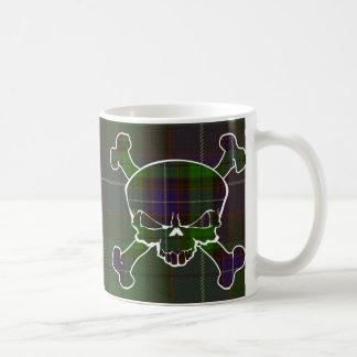 Mitchell Tartan-Schädel keine Fahne Kaffeetasse