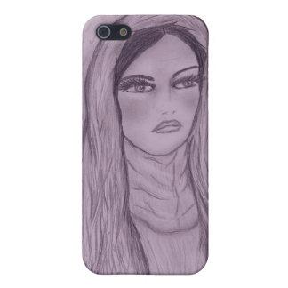 Mitfühlende Mary in Lila Schutzhülle Fürs iPhone 5
