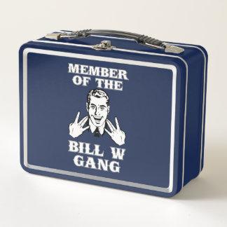 Mitglied der Gruppe Bills W Metall Lunch Box
