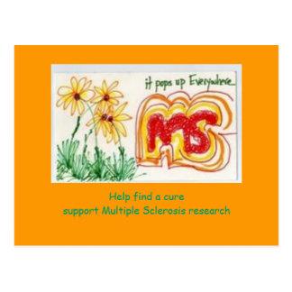 Mitgliedstaat-Bewusstseins-Postkarte Postkarte