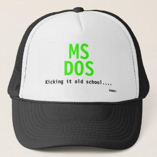 Mitgliedstaat, DOS, es tretend alte Schule…., Truckerkappe