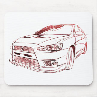 MITLancer Evo X 2008 Mousepads