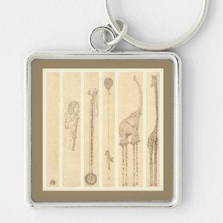 Mitläufer [Giraffe] Schlüsselanhänger