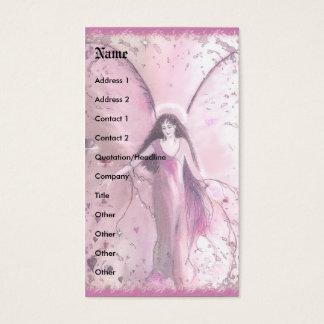 Mitleid-Engel, Schablone Visitenkarte