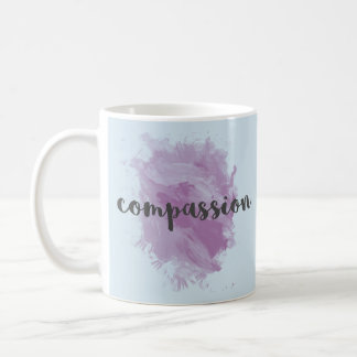 Mitleid| Inspirational Watercolor-Kaffee-Tasse Kaffeetasse