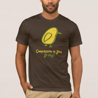 Mitleid ist gut. Gehen Veg. T-Shirt