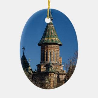 Mitropolitan Kathedrale, Timisoara, Rumänien Keramik Ornament