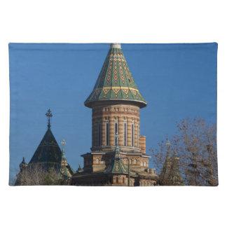 Mitropolitan Kathedrale, Timisoara, Rumänien Stofftischset
