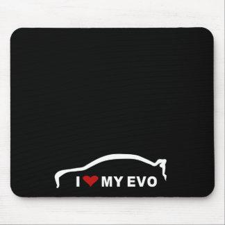 Mitsubishilancer-Evolution X - i-Liebe mein EVO Mauspad