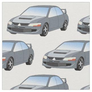 Mitsubishilancer-Evolutions-Gewebe Stoff
