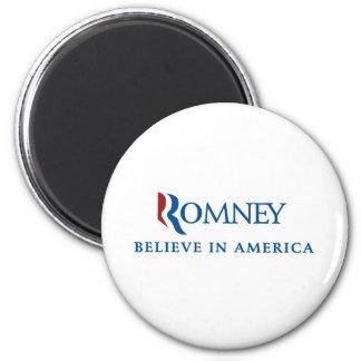 Mitt Romney 2012 Runder Magnet 5,1 Cm