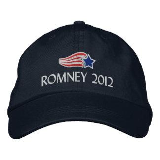 Mitt Romney 2012 Stern-Streifen stickte Hut
