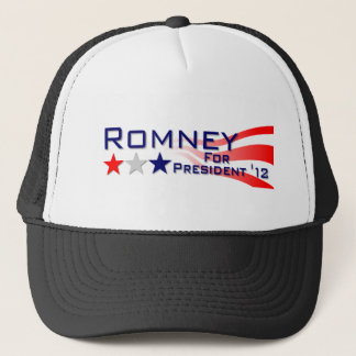 Mitt Romney 2012 US Flagge Truckerkappe