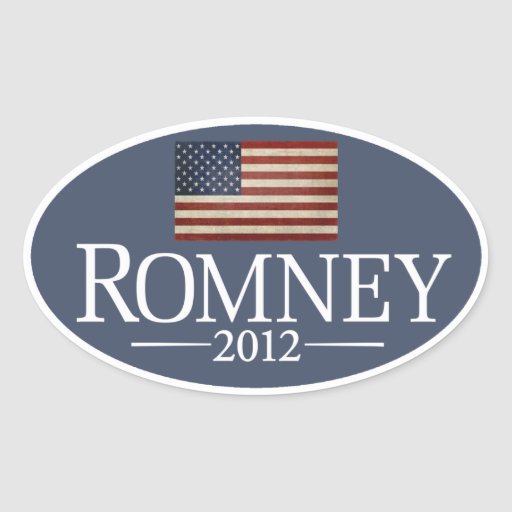 Mitt Romney Aufkleber-Set