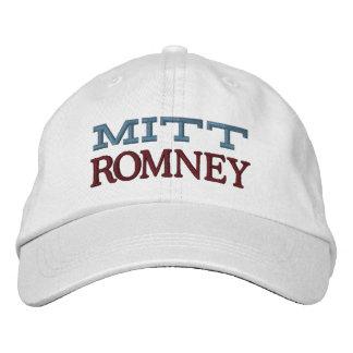 Mitt Romney Bestickte Baseballkappe
