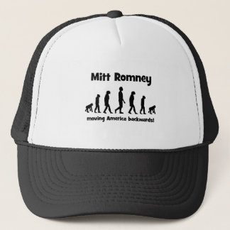 Mitt Romney, der Amerika zurückbewegt Truckerkappe