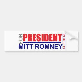 Mitt Romney FÜR Präsidenten Autoaufkleber