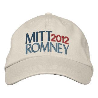 Mitt Romney im Jahre 2012 Bestickte Baseballkappe
