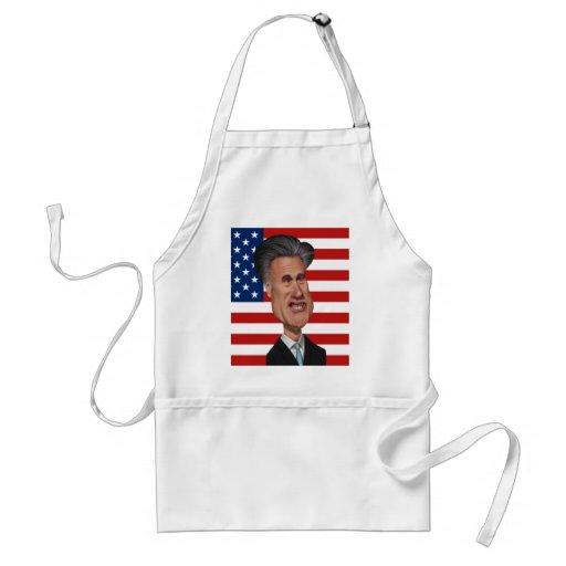 Mitt Romney-Karikatur USA Schürze