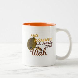 Mitt Romney Senats-Tasse 2018 Zweifarbige Tasse