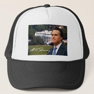Mitt Romney u. das Weiße Haus Truckerkappe