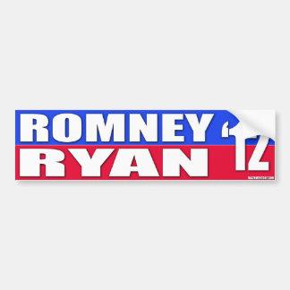 Mitt Romney u. Kampagnen-Stoßdämpfer-Stock Pauls Autoaufkleber