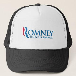 Mitt Romneypräsidentenkampagnen-Wahl-Produkt Truckerkappe