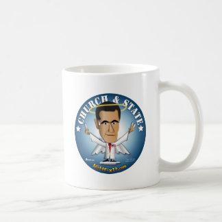 Mitt-Verlegenheit es - Kirche und Staat Kaffeetasse