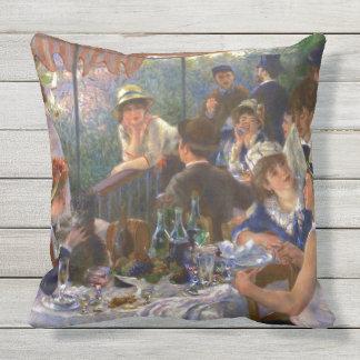 Mittagessen der Bootfahrt-Party Renoir feinen Kissen