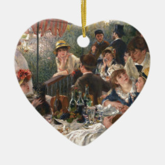 Mittagessen des Bootfahrt-Party - Renoir Keramik Ornament