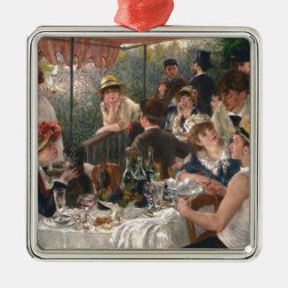 Mittagessen des Bootfahrt-Party - Renoir Silbernes Ornament