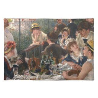 Mittagessen des Bootfahrt-Party - Renoir Stofftischset