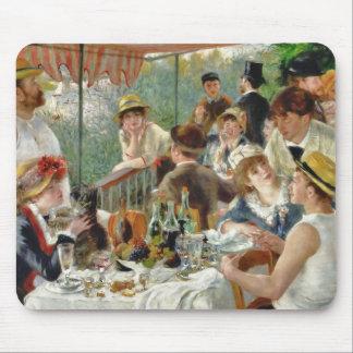 Mittagessen des Bootfahrt-Party Vintages Renoir Mousepad