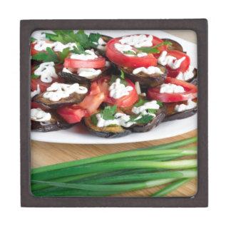 Mittagessen für einen Vegetarier Kiste