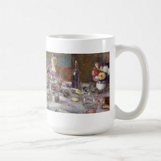 Mittagessen Kaffeetasse